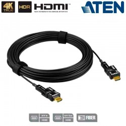 Aten VE7832 - 15m Cable óptico activo HDMI 2.0 4K real