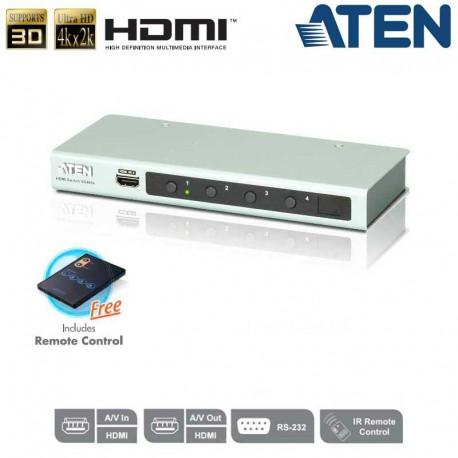 Aten VS481B - Conmutador HDMI 4Kx2K de 4 puertos