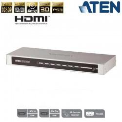 Conmutador HDMI de 8 puertos Aten VS0801H