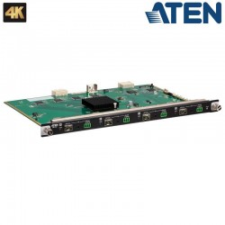 Aten VM7584K2 - Tarjeta de entrada óptica 10G de 4 puertos (4K a 10 km , SM)