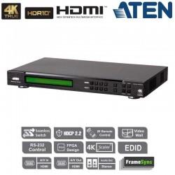Aten VM6404HB | Conmutador Matricial HDMI 4K 4x4 Real (Videowall)