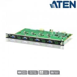 Aten VM7104 - Tarjeta de Entrada VGA de 4 puertos para VM1600 y VM3200