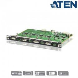 Aten VM7604 - Tarjeta de Entrada DVI de 4 puertos para VM1600 o VM3200