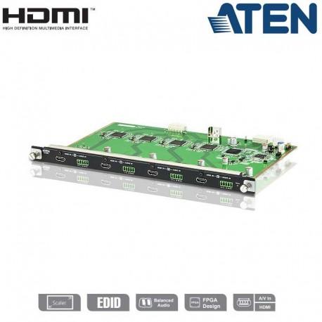 Aten VM7804 - Tarjeta de Entrada HDMI de 4 puertos para VM1600 o VM3200