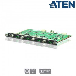 Aten VM7404 - Tarjeta de Entrada 3G-SDI de 4 puertos para VM1600 y VM3200