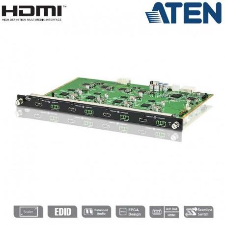 Aten VM8804 - Tarjeta de Salida HDMI de 4 puertos para VM1600 o VM3200