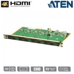 Tarjeta de entrada HDMI 4K de 4 puertos Aten VM7814