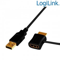 Adaptador de inserción de alimentación HDMI Logilink CH0081
