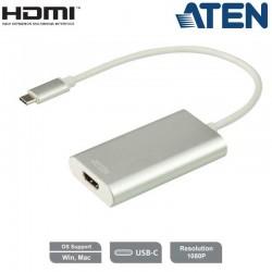 CAMLIVE Capturadora de vídeo UVC de HDMI a USB-C Aten UC3020