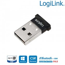 Logilink BT0015 - Adaptador USB a Bluetooth V4.0, 50m - Marlex