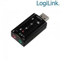 Logilink UA0078 - Adaptador USB Audio Efecto 7.1 | Marlex Conexion