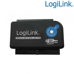 Logilink AU0028A - Adaptador USB 3.0 a IDE & SATA con OTB | Marlex Conexion