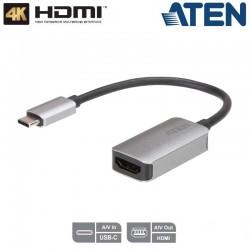 Conversor de USB-C a HDMI (4K) Aten UC3008A1
