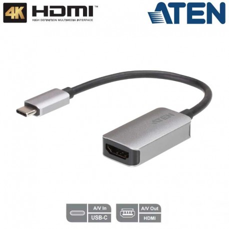 Aten UC3008A1-Conversor de USB-C a HDMI (4K) | Marlex Conexion