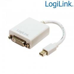 Logilink CV0037B - Cable Adapt Mini DisplayPort 1.2 Macho-DVI Hembra | Marlex Conexion