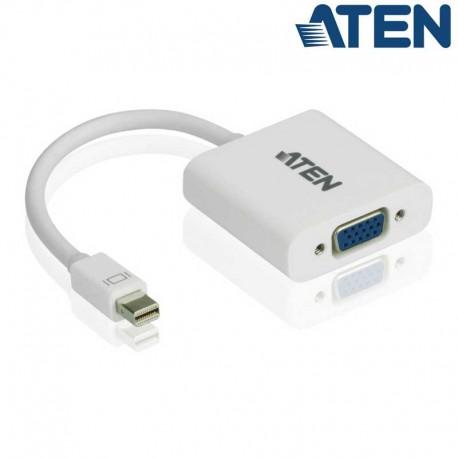Aten VC920 - Conversor Mini DisplayPort 1.1 a VGA | Marlex Conexion