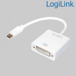 Conversor USB 3.1 Tipo C a DVI Logilink UA0245A