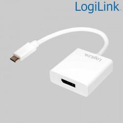 Conversor USB 3.1 Tipo C a DisplayPort Logilink UA0246A