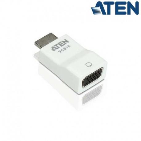Aten VC810 - Conversor HDMI a VGA Compacto   Marlex Conexion