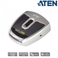 Aten US221 - Conmutador USB 2.0 (2 x 1) | Marlex Conexion