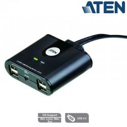 Aten US224 - Conmutador USB 2.0 (2 x 4) | Marlex Conexion