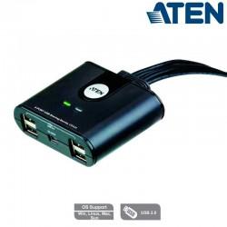 Aten US424 - Conmutador USB 2.0 (4 x 4) | Marlex Conexion