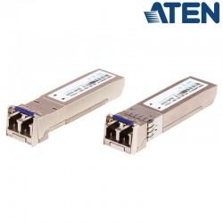 Módulo transceptor SFP a 10 G de fibra multimodo (10 km) Aten 2A-142G