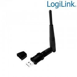 Logilink WL0238 - Adaptador USB 2.0 Wireless 600 Mbit/s con antena | Marlex Conexion
