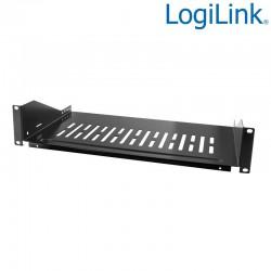 Logilink SF2C45B - Bandeja Colgante 19'' Fondo 400 Negra | Marlex Conexion