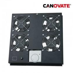 Canovate FAS122B - Ventilacion techo,4 Ventiladores con Termostato | Marlex Conexion