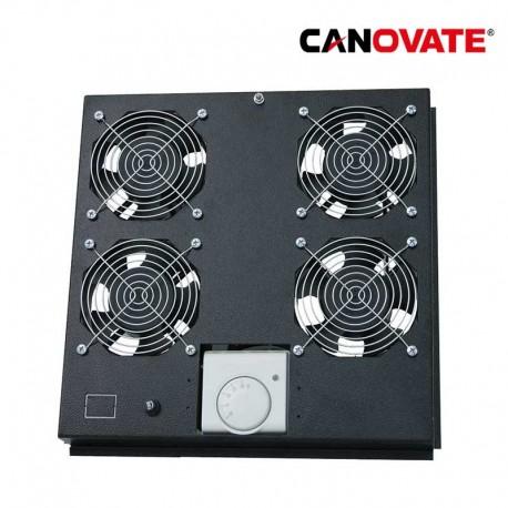 Canovate FAS122B - Ventilacion techo,4 Ventiladores con Termostato   Marlex Conexion