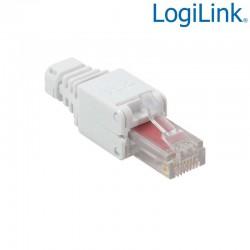 """Logilink MP0025 - Conector RJ45 UTP Cat.6 Macho """"toolless"""""""