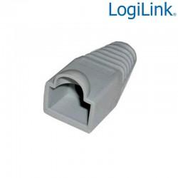 Logilink MP0005 - Funda Conector RJ45 Macho Gris (Bolsa 100 pcs)