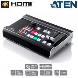 Aten UC9040 - Mezclador de AV multicanal todo en uno StreamLIVE™ PRO
