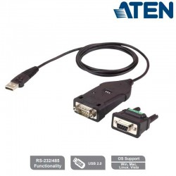 Cable conversor USB a Serie RS-422/485 Aten UC485