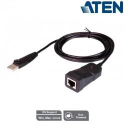 Conversor de Señal USB a RS-232 (RJ45) Aten UC232B