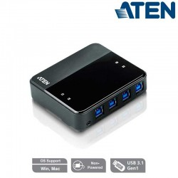 Aten US434 - Conmutador USB 3.0 (4 x 4) | Marlex Conexion