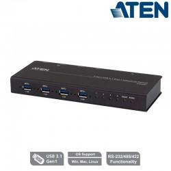 Aten US3344I - Conmutador industrial 4 x 4 puertos USB 3.1 Gen 1 | Marlex Conexion