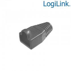 Logilink MP0006 - Funda Conector RJ45 Macho Negro (Bolsa 100 pcs)