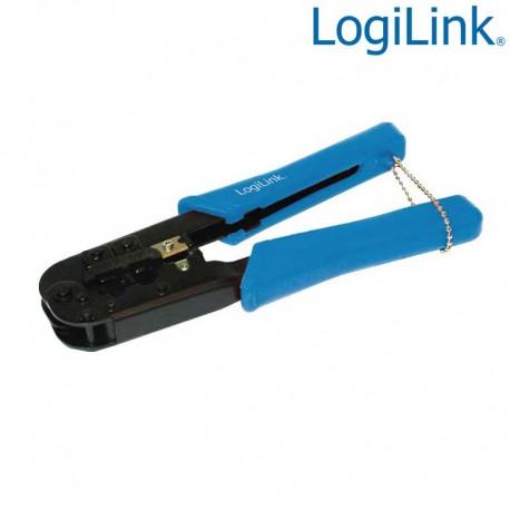 Logilink WZ0033 - Crimpadora RJ11, RJ12, RJ45 | Marlex Conexion