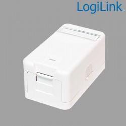 Caja Superficie para 1 conector tipo Keystone Logilink NK4022