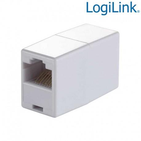 Logilink MP0031 - Adaptador RJ45 H-H 8/8 1:1 | Marlex Conexion