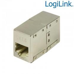 Logilink NP0054 Adaptador Cat.6 RJ45 STP H-H 8/8 1:1 | Marlex Conexion