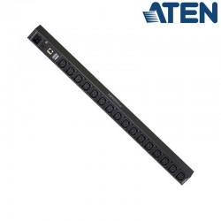 PDU de 16 Tomas C13 con medidor, 0U, 16A, compatible IP Aten PE1216G