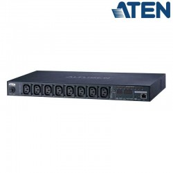 PDU eco 1U de 8 Tomas C13, 10A Aten PE6108G