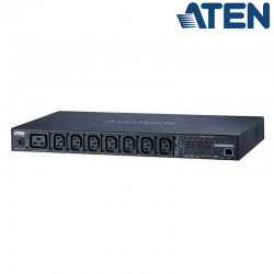 PDU eco 1U de 7 Tomas C13 y 1 C9, 16A Aten PE6208G