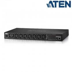 Aten PE8208G - PDU eco 1U de 7 Tomas C13 y 1 C9, 16A | Marlex Conexion