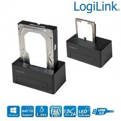 Logilink QP0026 - Docking Station USB 3.0 a SATA HDD/SSD | Marlex Conexion