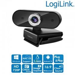 Web Cam USB 1280x720p HD, sensor CMOS de 30 fps Logilink UA0368
