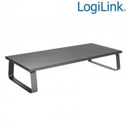 Logilink BP0065 - Elevador de monitor de mesa, 60cm de Largo, 12cm de Alto